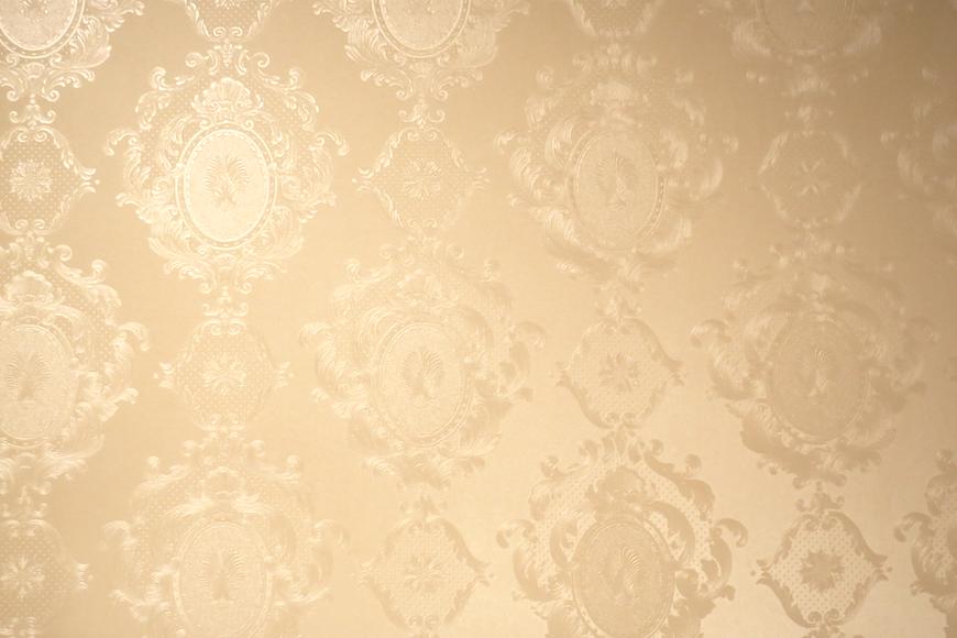 バスルーム24 【キャッスル東栄】 フレンチブルーがアクセント。 優雅でクラシカルなお部屋。
