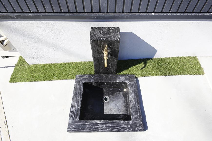 玄関脇には水道もあります☆_MG_0116