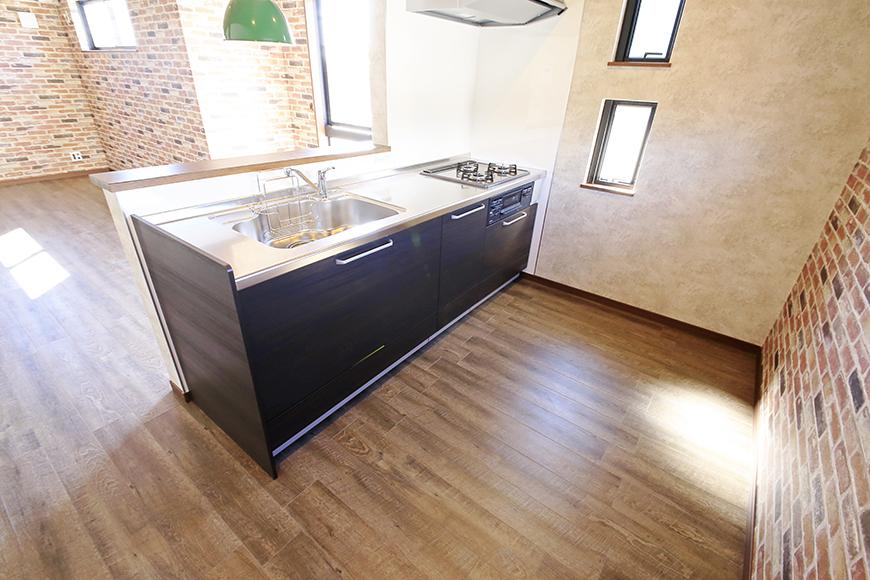 キッチン周りです。この広々スペースでストレスなく料理☆_MG_9649
