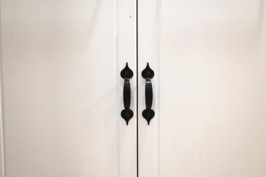 バスルーム23 【キャッスル東栄】 フレンチブルーがアクセント。 優雅でクラシカルなお部屋。