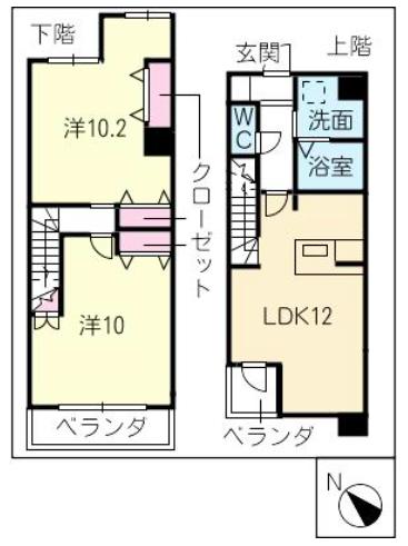 間取図_603号室
