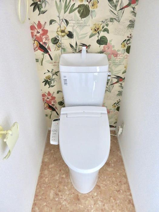 シャビーシック お洒落なトイレ。3