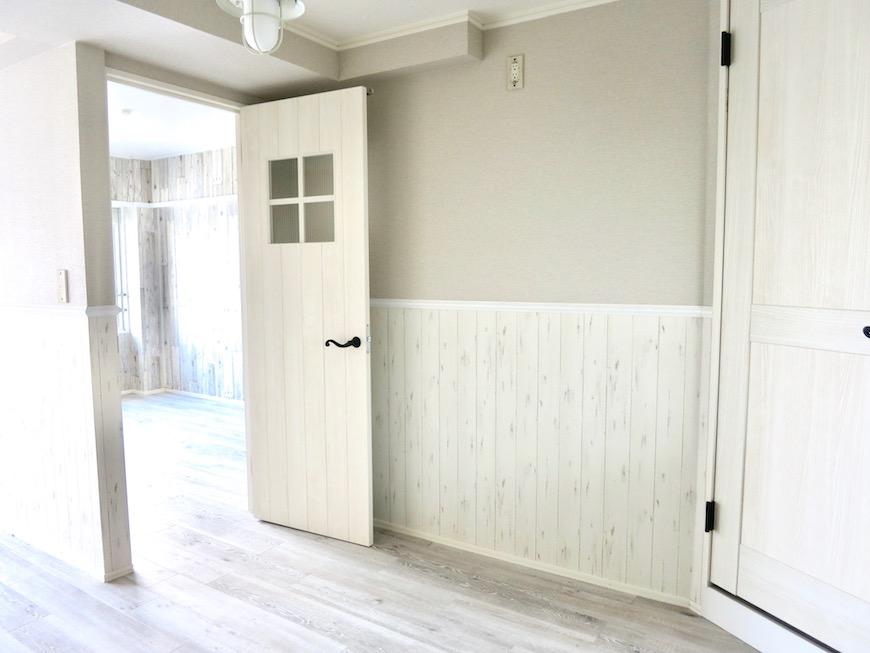 LDK 知的で上品なシャビーシックなお部屋。_8203