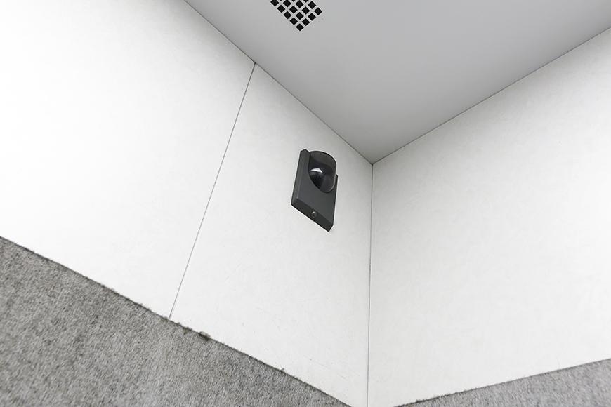 エレベータ内にもカメラモニター。_MG_9442
