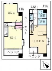 間取図_801号室
