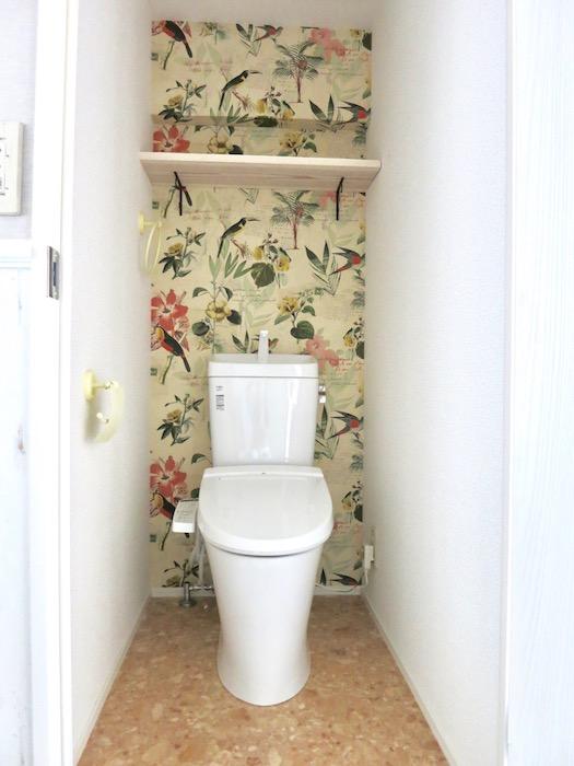 シャビーシック お洒落なトイレ。4