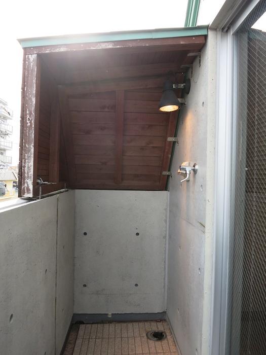 the LOFT 4-D ベランダ&洗濯機置き場2