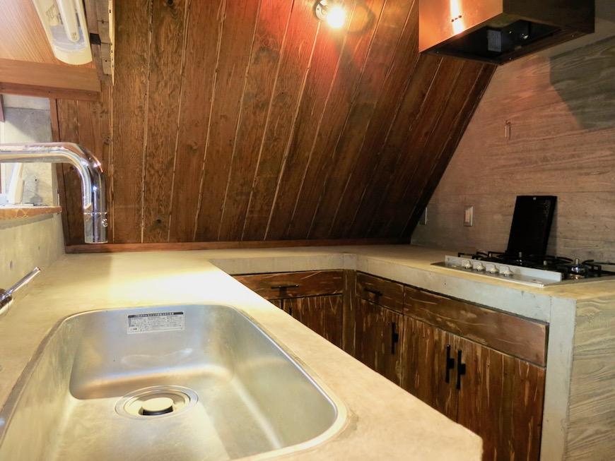 the LOFT 4-D キッチン内 デザインが渋い♡1