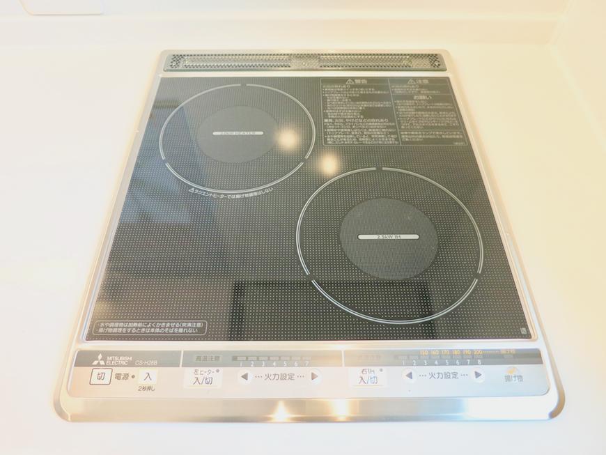 プリマノッツェ西尾 壱番館 キッチン IHコンロ kitchen1