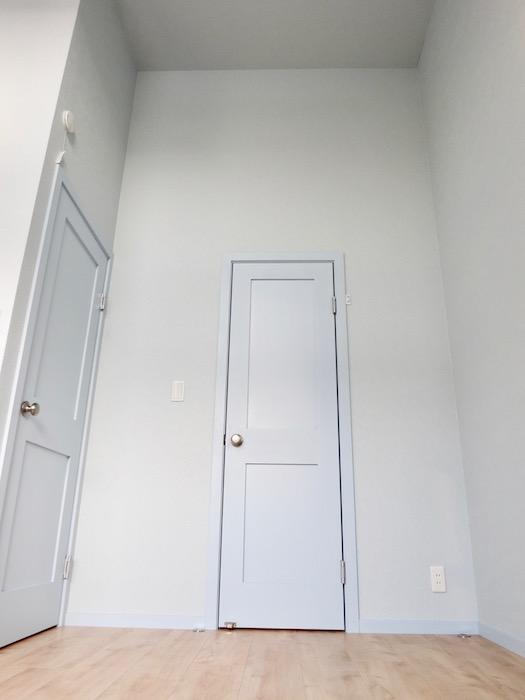 天井高♪扉の上にも壁がいっぱい_8491
