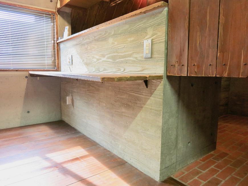 the LOFT 4-D キッチン かっこいいカウンター2
