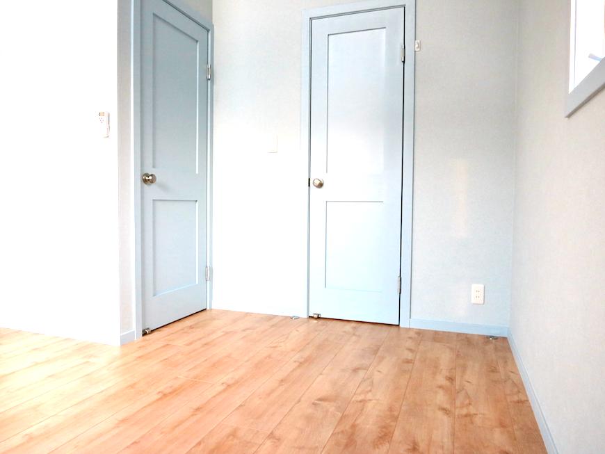 プリマノッツェ西尾 壱番館 プライベートルーム 扉とか壁紙のグラデーションが綺麗2