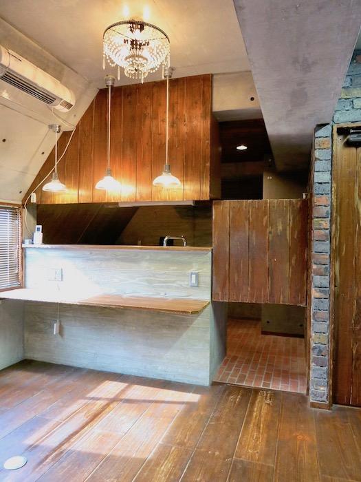 the LOFT 4-D キッチン1