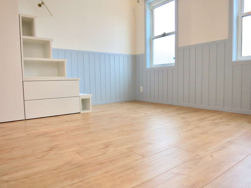 プリマノッツェ西尾 壱番館 LDK ナチュラルデザインの床板 14
