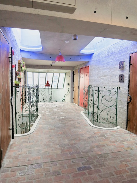 the LOFT 4-D 4階 お庭みたいな共用スペース3