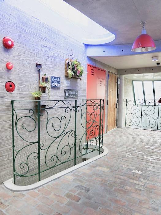 the LOFT 4-D 4階 お庭みたいな共用スペース4