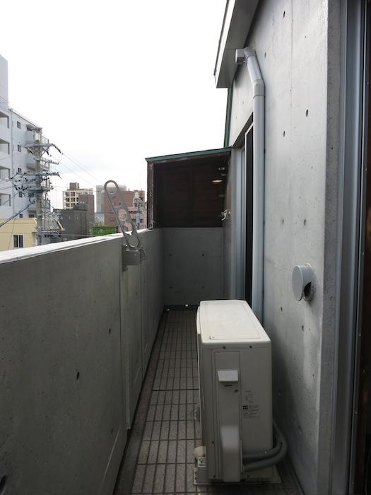 the LOFT 4-D ベランダ&洗濯機置き場1