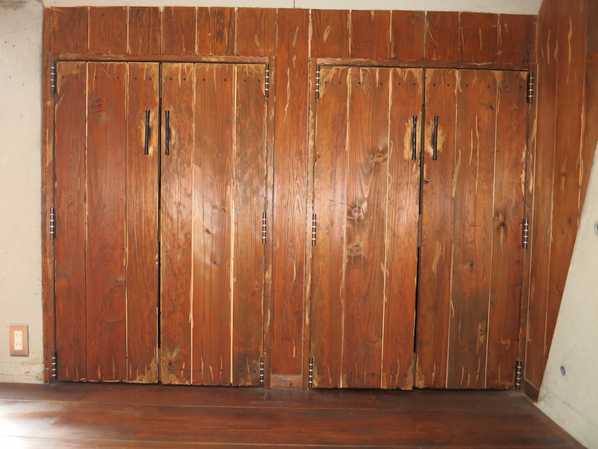 the LOFT 4-D 2階 Left Room おしゃれなキッズルーム 収納1