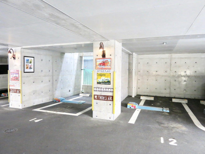 the LOFT 4-D 外観 パーキングエリア3