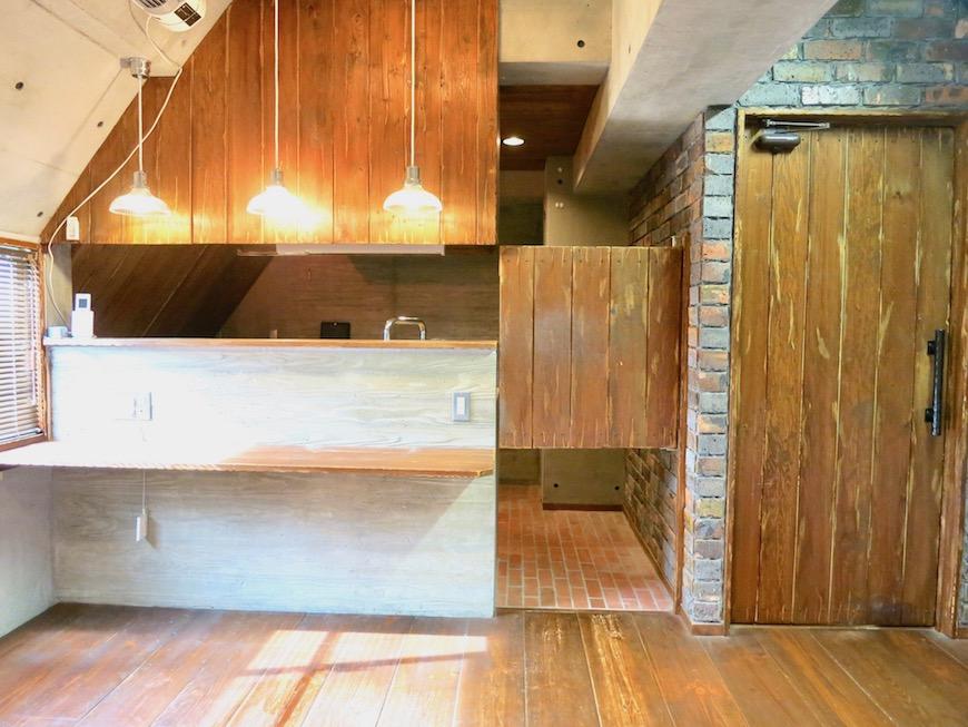 the LOFT 4-D キッチン かっこいいカウンター3