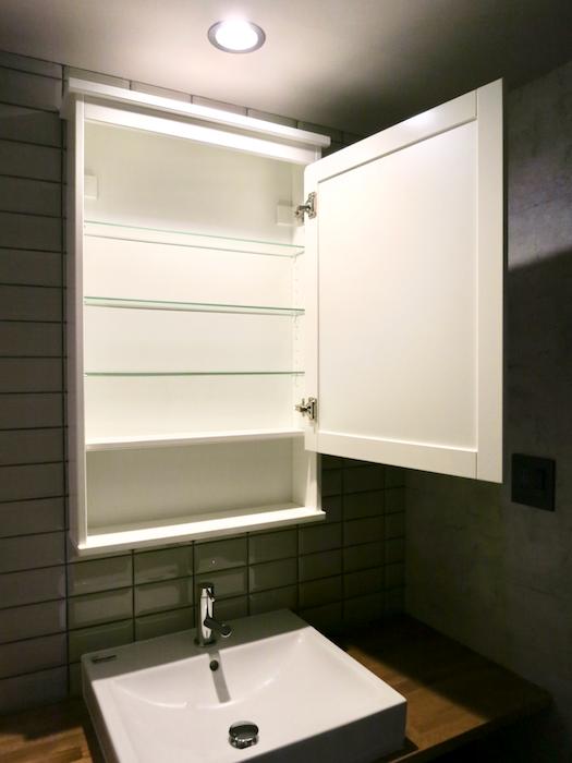 7E  バスルーム インダストリアル スタイル クール!洗面化粧台3