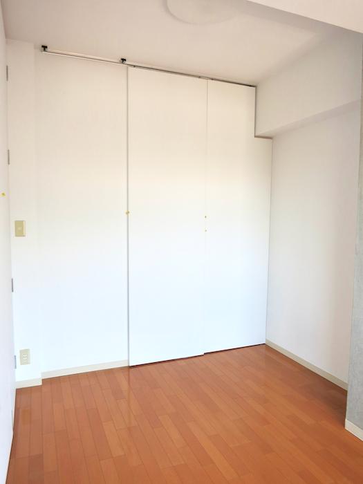 グラン・アルファ307 お部屋の大きさ自由自在 5,6帖のお部屋。シンプルホワイト。