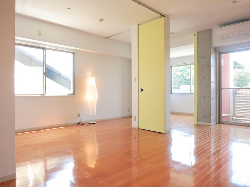 グラン・アルファ307 お部屋の大きさ自由自在 全面23,6帖の空間。