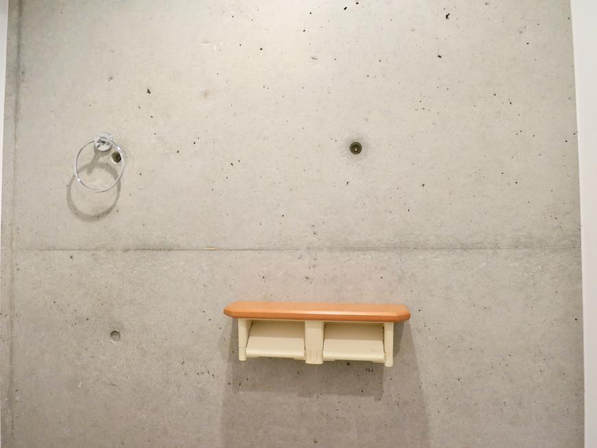 グラン・アルファ307 コンクリートとウッドの小物でお洒落です。