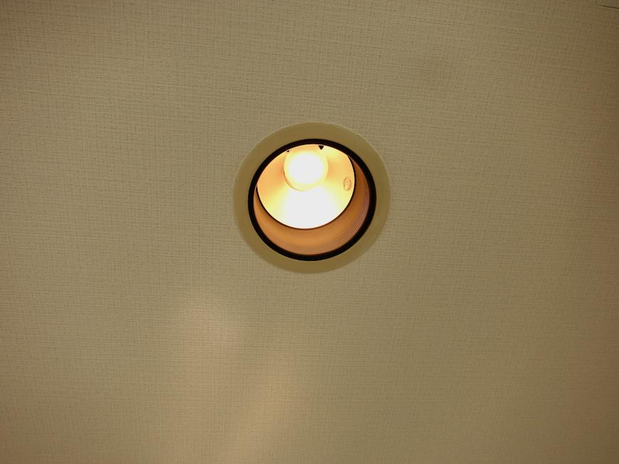 ラ・ヴィアン・ムロガ 603  お洒落な照明&スポット5か所あります。2
