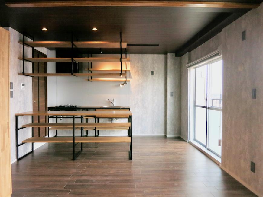7E インダストリアル スタイル 美しいキッチン 50