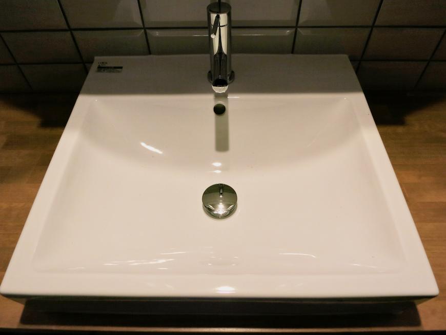 7E  バスルーム インダストリアル スタイル クール!洗面化粧台1