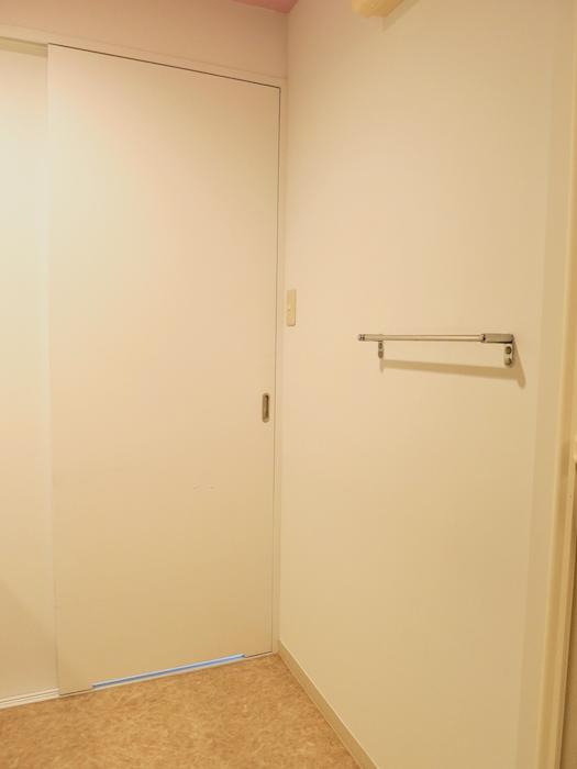 グラン・アルファ307 バスルーム 脱衣スペース広々してます。