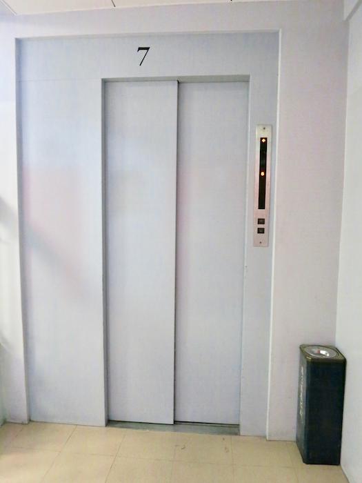 7F 共用スペース エレベーターホール