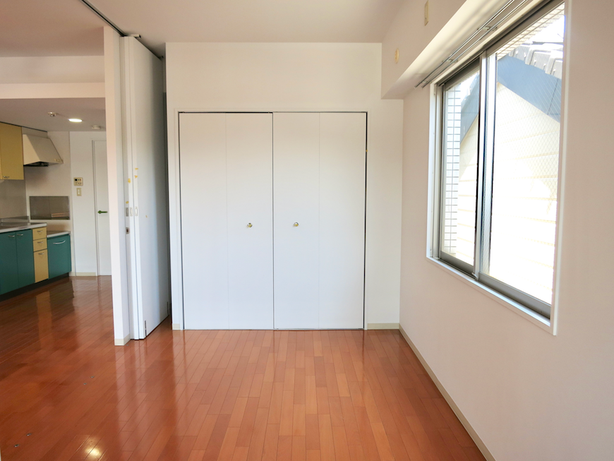 グラン・アルファ307 お部屋の大きさ自由自在 洋間6帖にあたる空間。