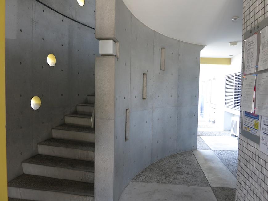 グラン・アルファ 共用 デザイナーズマンションならではのお洒落なデザイン。2