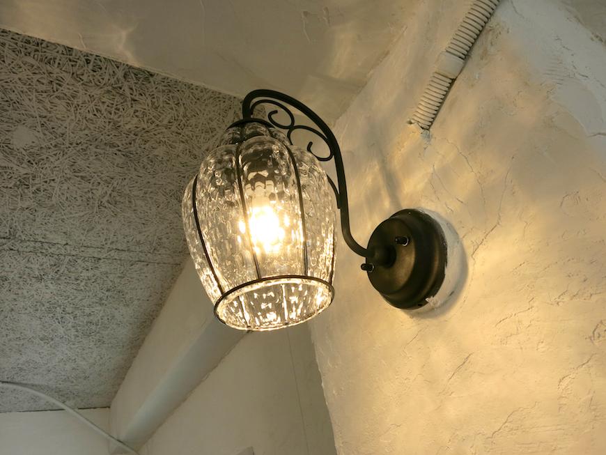 ブランチアベニュー BRANCH Cafe  アイアン&ガラスのブランケットライト2