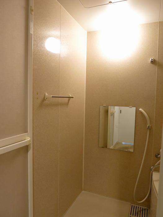 グラン・アルファ307 バスルーム ゆったりしています。