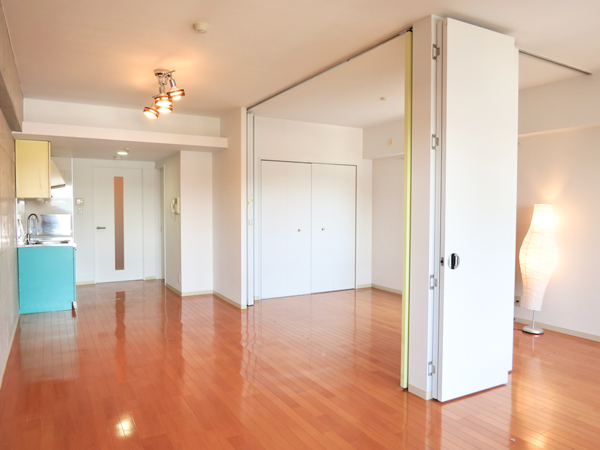 グラン・アルファ307 お部屋の大きさ自由自在 全面23,6帖 広々空間。
