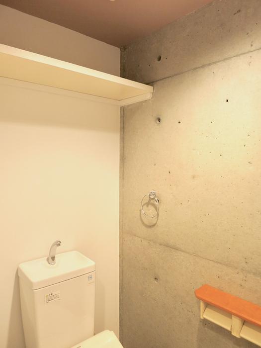グラン・アルファ307トイレ いい雰囲気のトイレ。