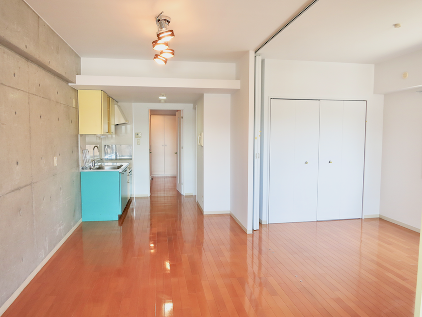 グラン・アルファ307 お部屋の大きさ自由自在 ポップなカラーが可愛いお部屋。