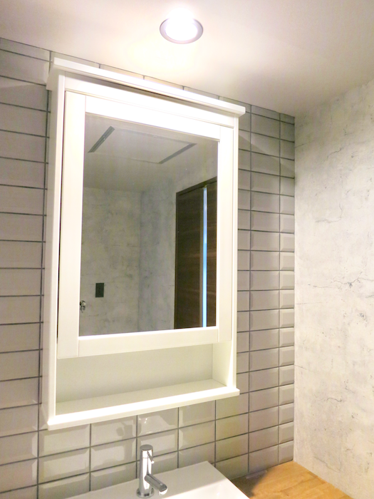 7E  バスルーム インダストリアル スタイル クール!洗面化粧台2