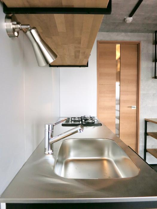 7F インダストリアル スタイル 美しいフレーム キッチン8