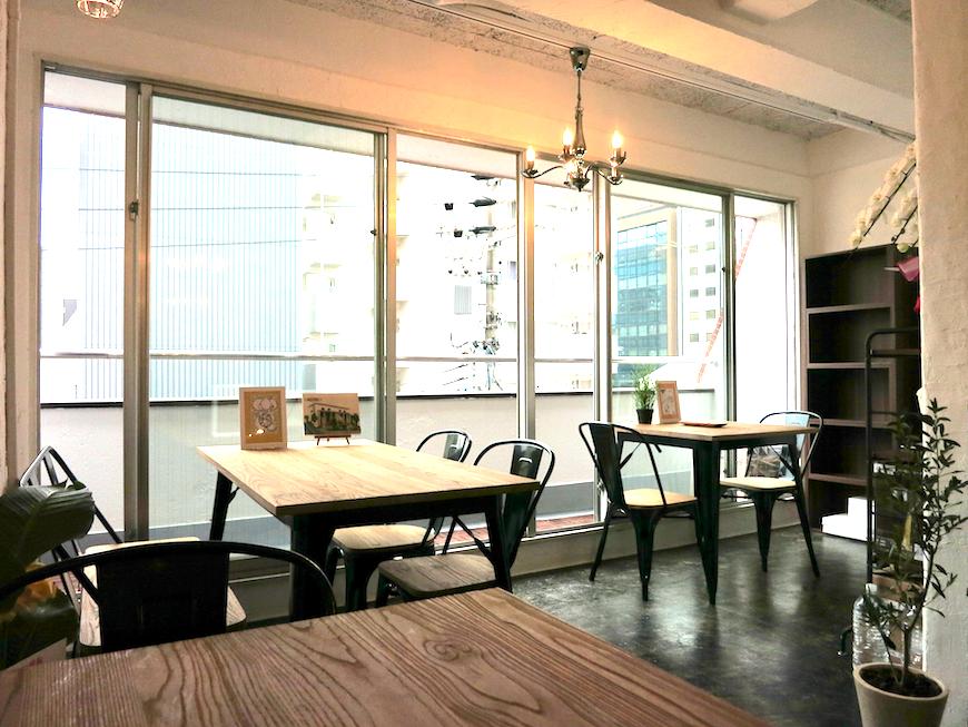 ブランチアベニュー BRANCH Cafe  のんびりくつろげそうな窓側の景色3