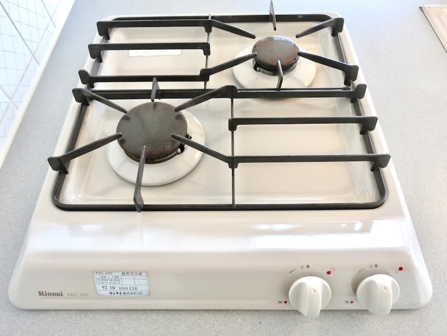 ラ・ヴィアン・ムロガ 603  キッチン コンロ&シンク1