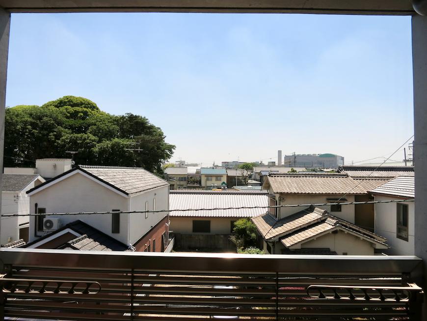 グラン・アルファ307 3階からの見晴らし良好。