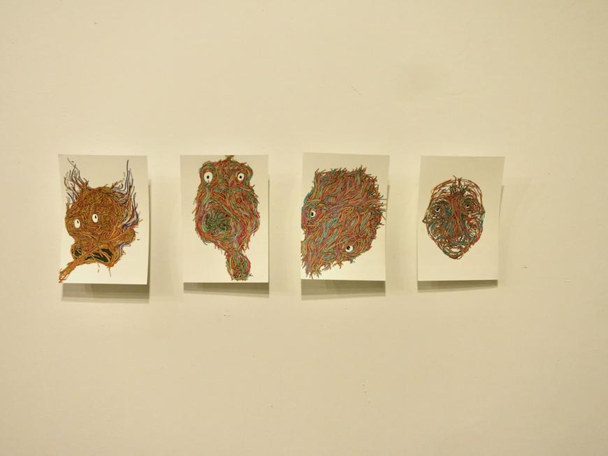 EU Studio : Art Media Roomのアーティストたちの作品5