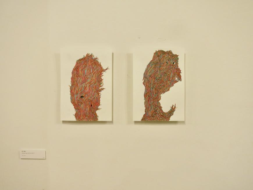 EU Studio : Art Media Roomのアーティストたちの作品4