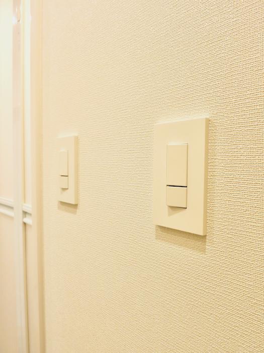 スイッチもお部屋の雰囲気に合わせホワイト。 東海御園ハイツ 5