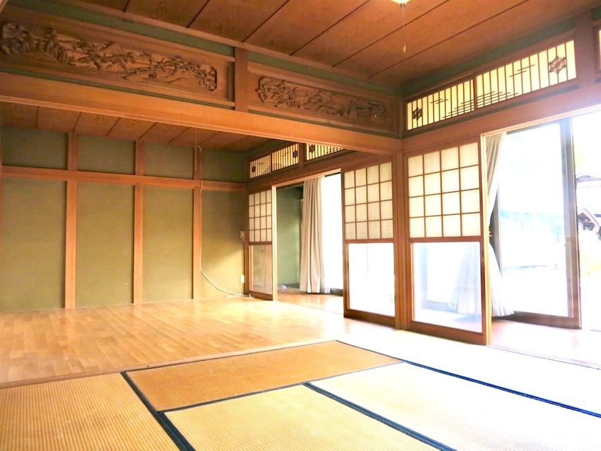 縁側と和室。あたたかい陽だまりのある空間。IMG_0284