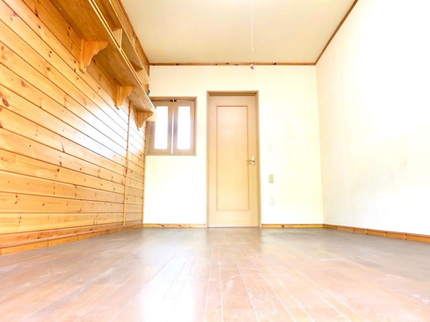 洋室二間。広々1LDKにリノベーション予定。 【犬山 桜の里】IMG_0411